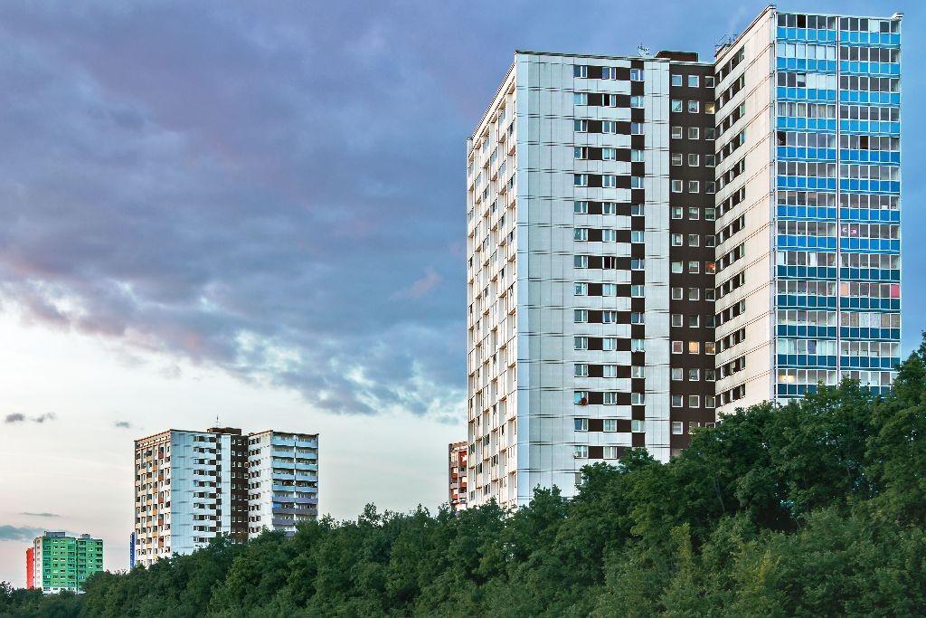 Skyline Erlangen-Bruck